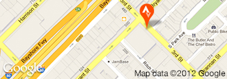 Map of the Strava Headquarters in San Francisco, California