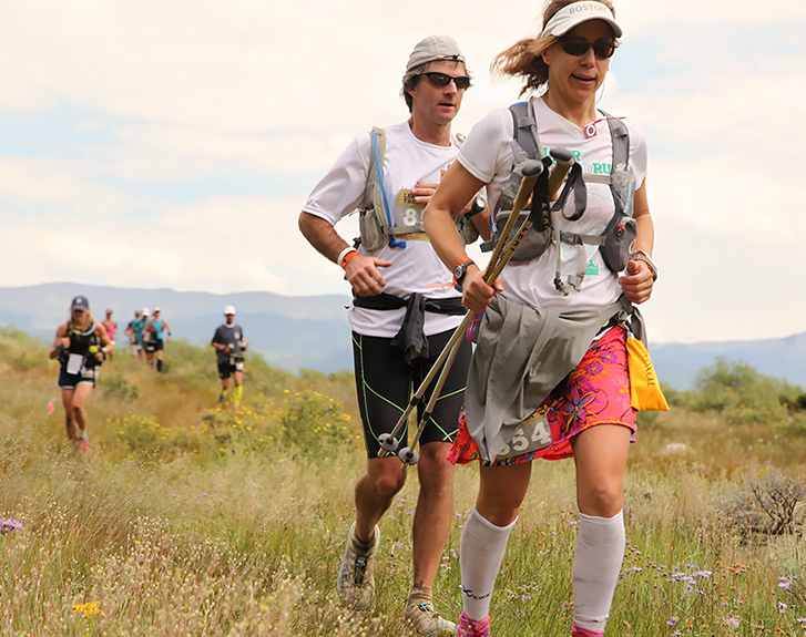 Photo of trail runners at Leadville
