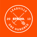 Strava - Leadville One Hundred 2013 Logo