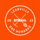 Strava - Leadville One Hundred 2013 Logo