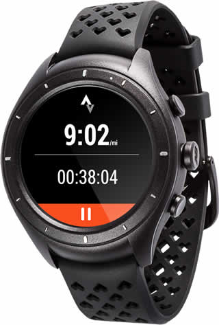 Image of the Android Wear 2.0 watch.