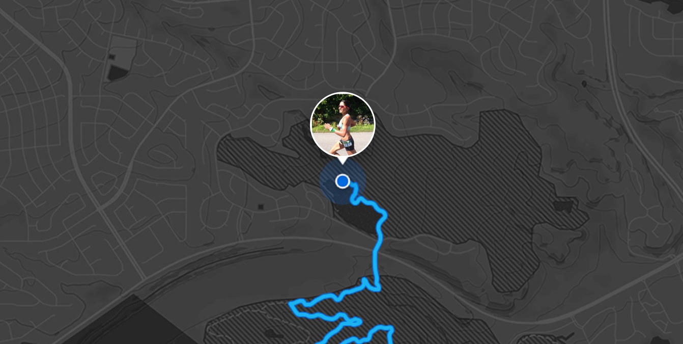 Strava Beacon Map